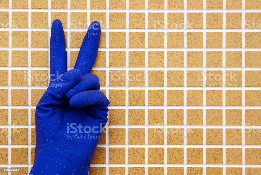 Wet cleaning royalty-free stock photo