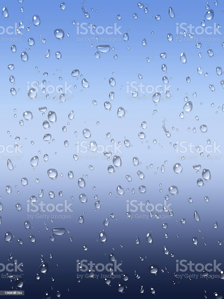Wet glass window background royalty-free stock photo