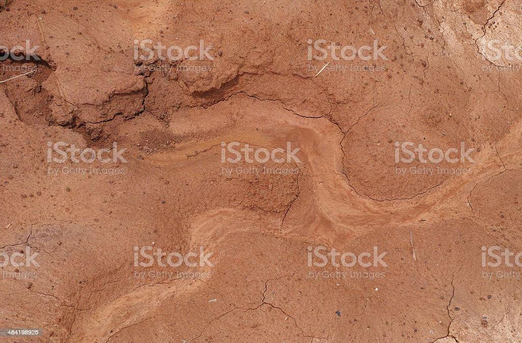 Wet Mud Background stock photo