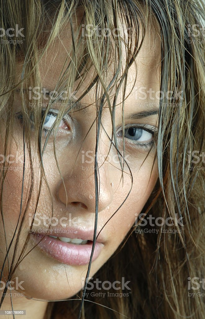 wet royalty-free stock photo