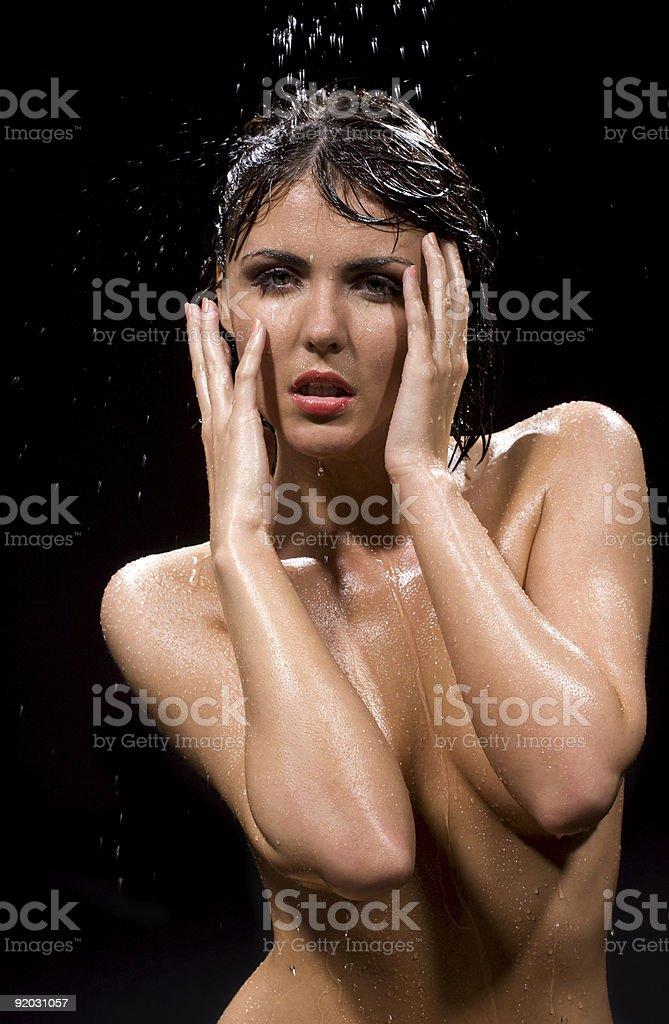 wet royalty-free stock photo