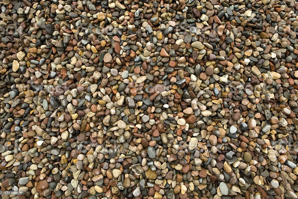Wet River Rock Background stock photo