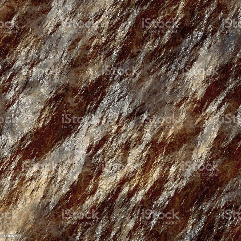 Wet rock stock photo