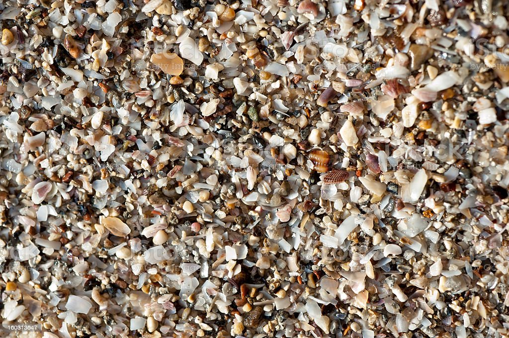 Wet sand royalty-free stock photo