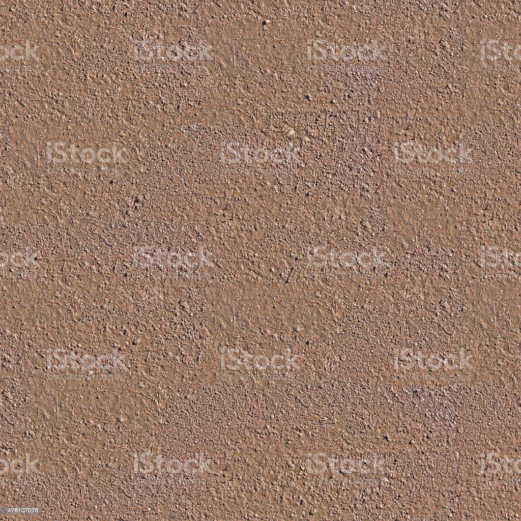 Wet soil seamless background stock photo