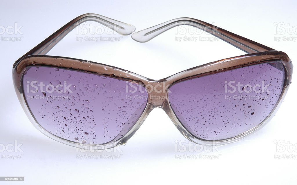 wet sunglasses royalty-free stock photo