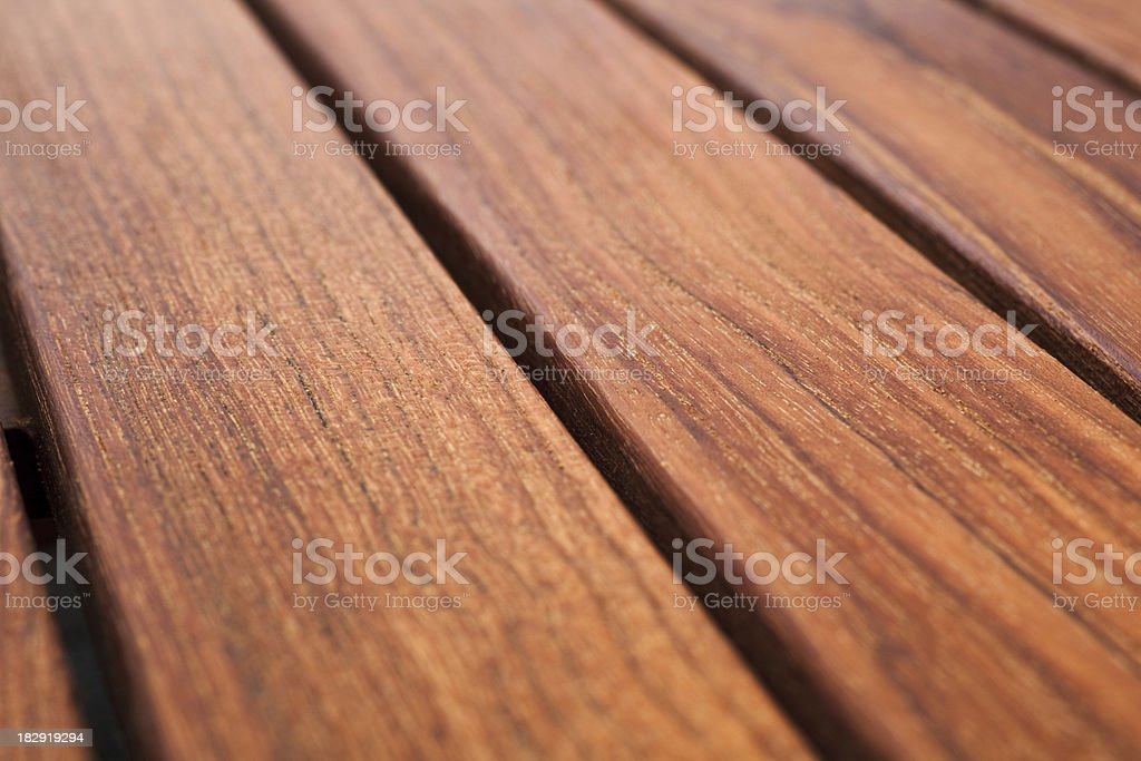 Wet teak panel royalty-free stock photo
