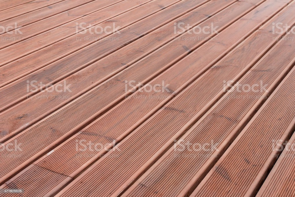 wet wood terrace floor background royalty-free stock photo