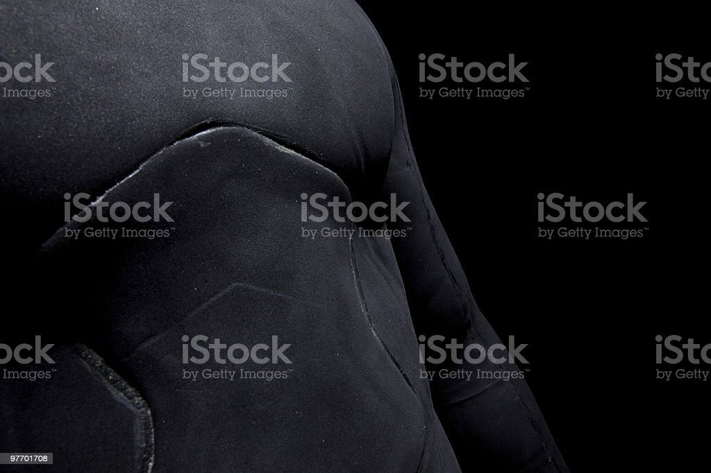 Wetsuit Chest stock photo