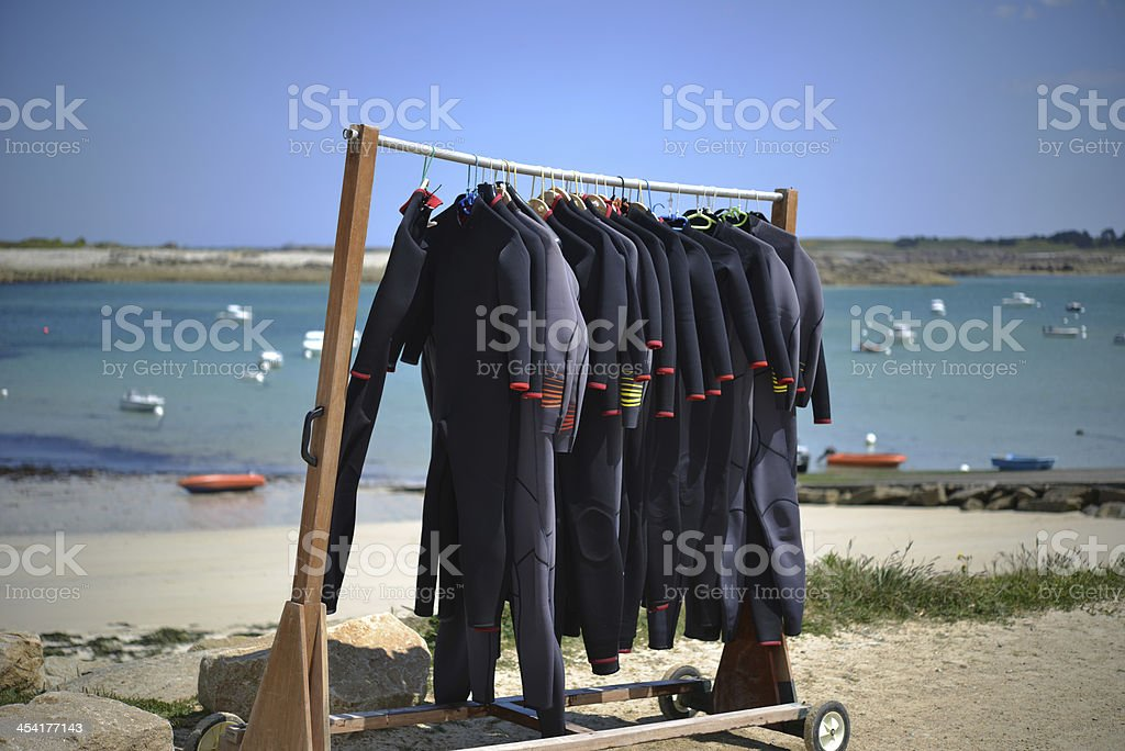 Wetsuit Gallery stock photo