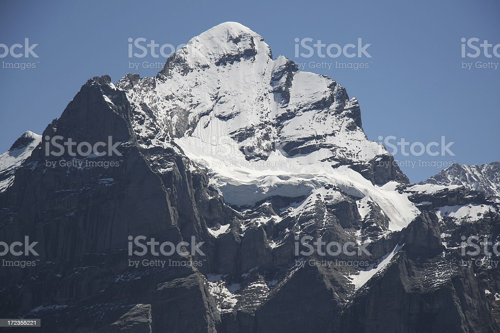 Wetterhorn royalty-free stock photo