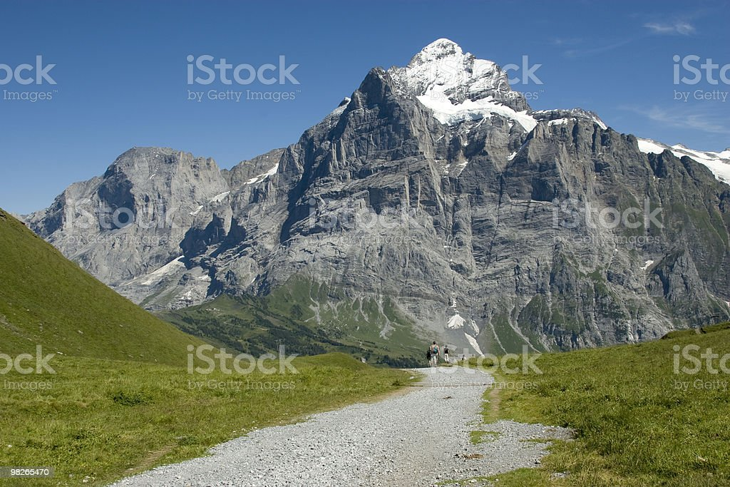 Wetterhorn. royalty-free stock photo