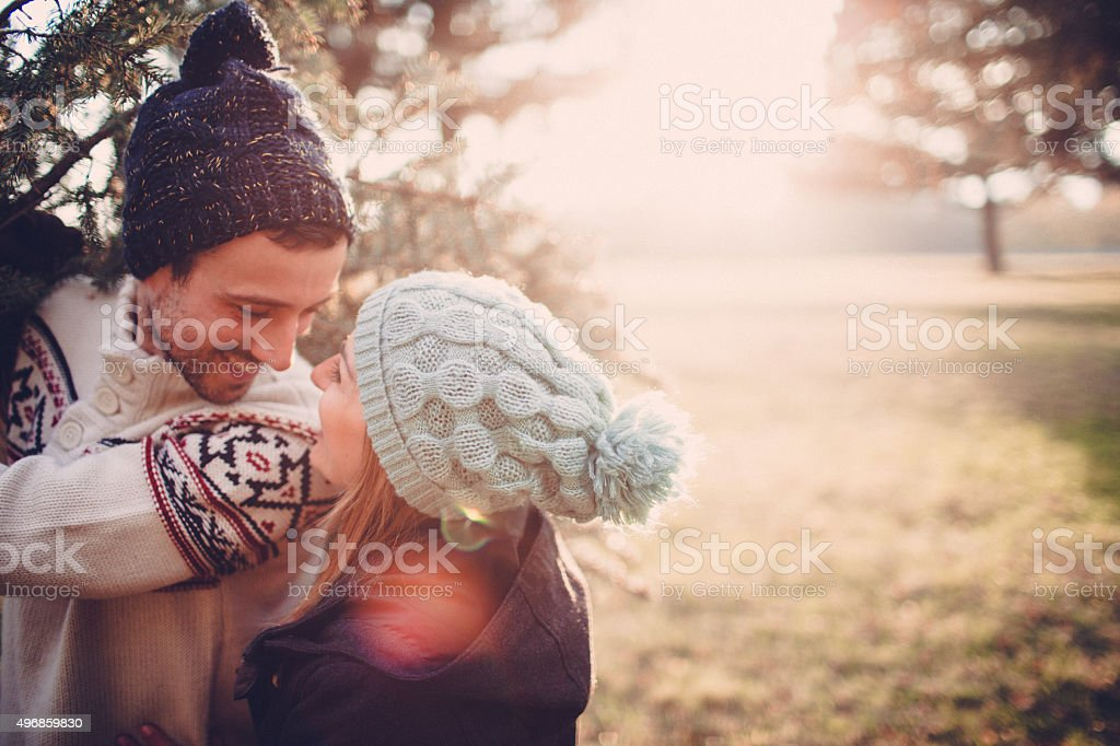 We've chosen our Christmas tree stock photo