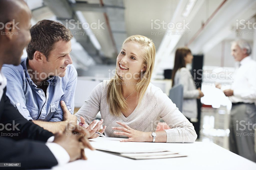 We've exceeded all expectations royalty-free stock photo