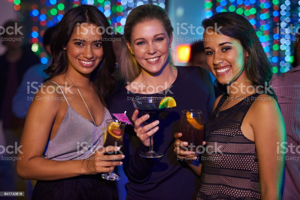 We've got some catching up and partying to do stock photo