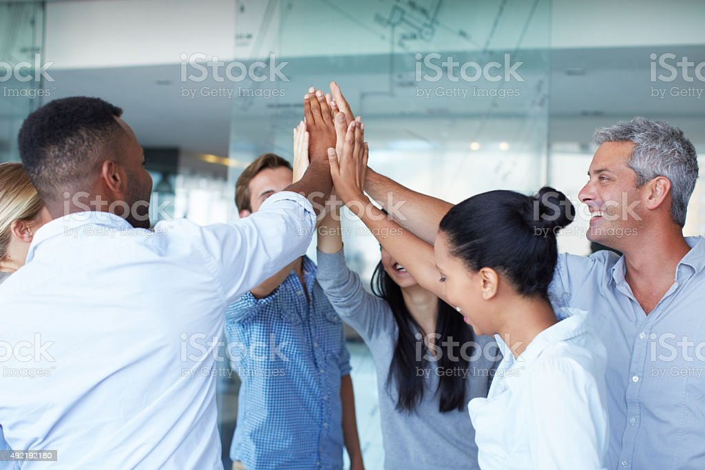 We've got this! stock photo