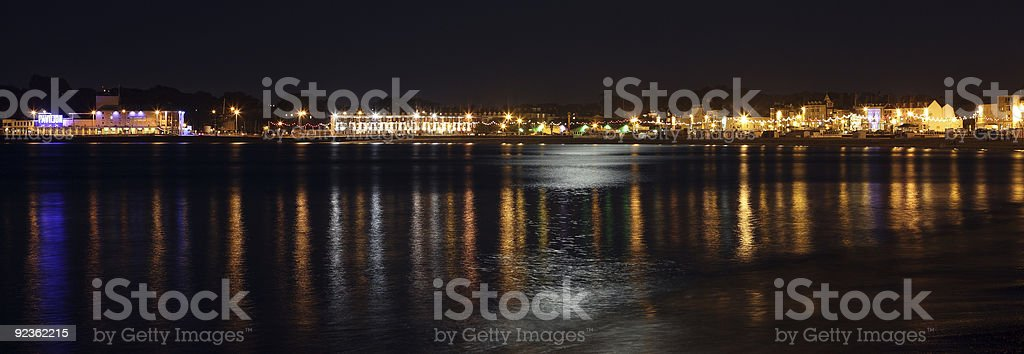Weymouth bay royalty-free stock photo