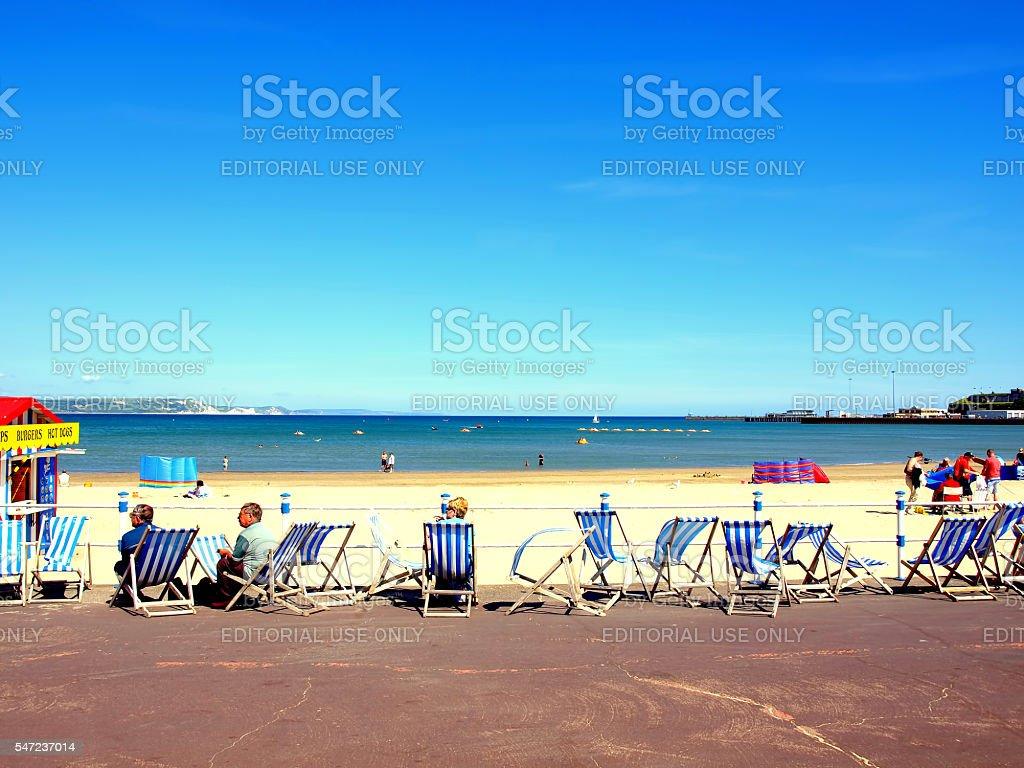 Weymouth, Dorset, UK. stock photo