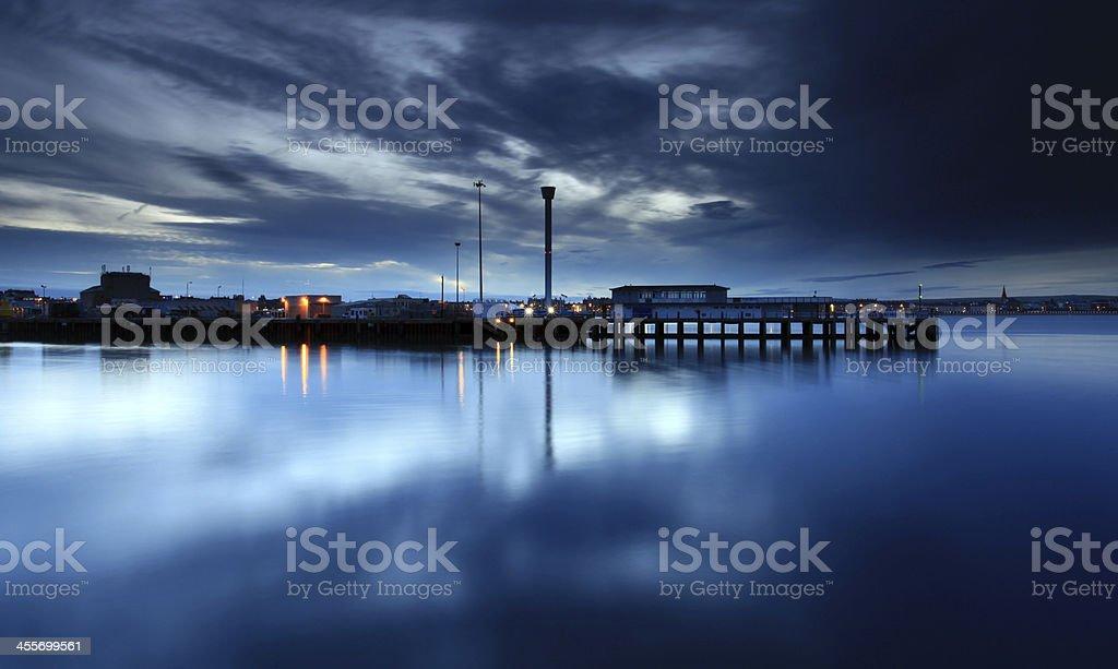 Weymouth Harbour England stock photo