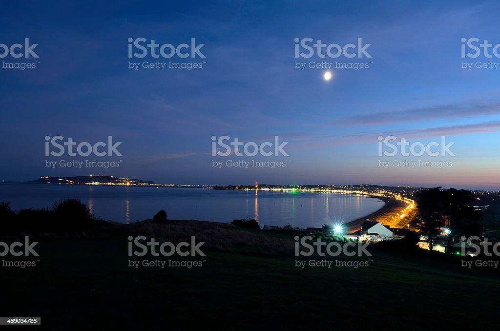 Weymouth & Portland Night royalty-free stock photo