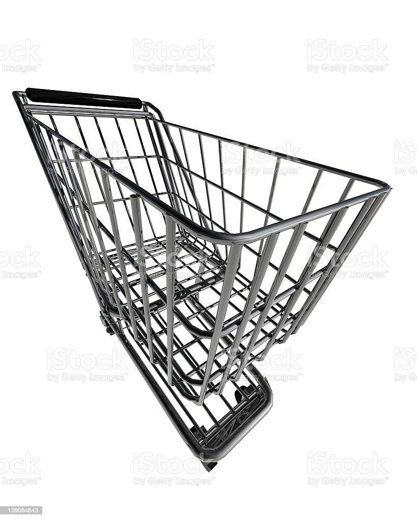 Whacky Shopping Cart 1 of 2 royalty-free stock photo