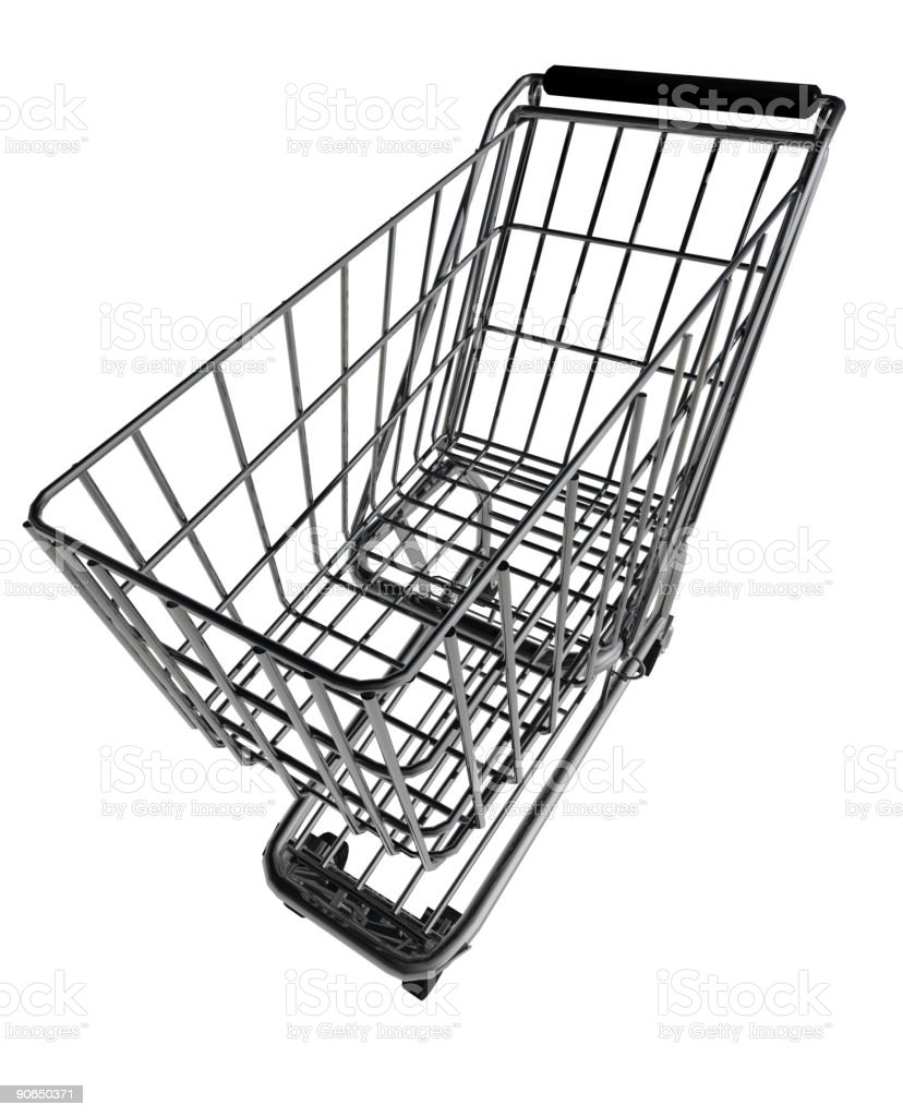 Whacky Shopping Cart 2 of 2 royalty-free stock photo