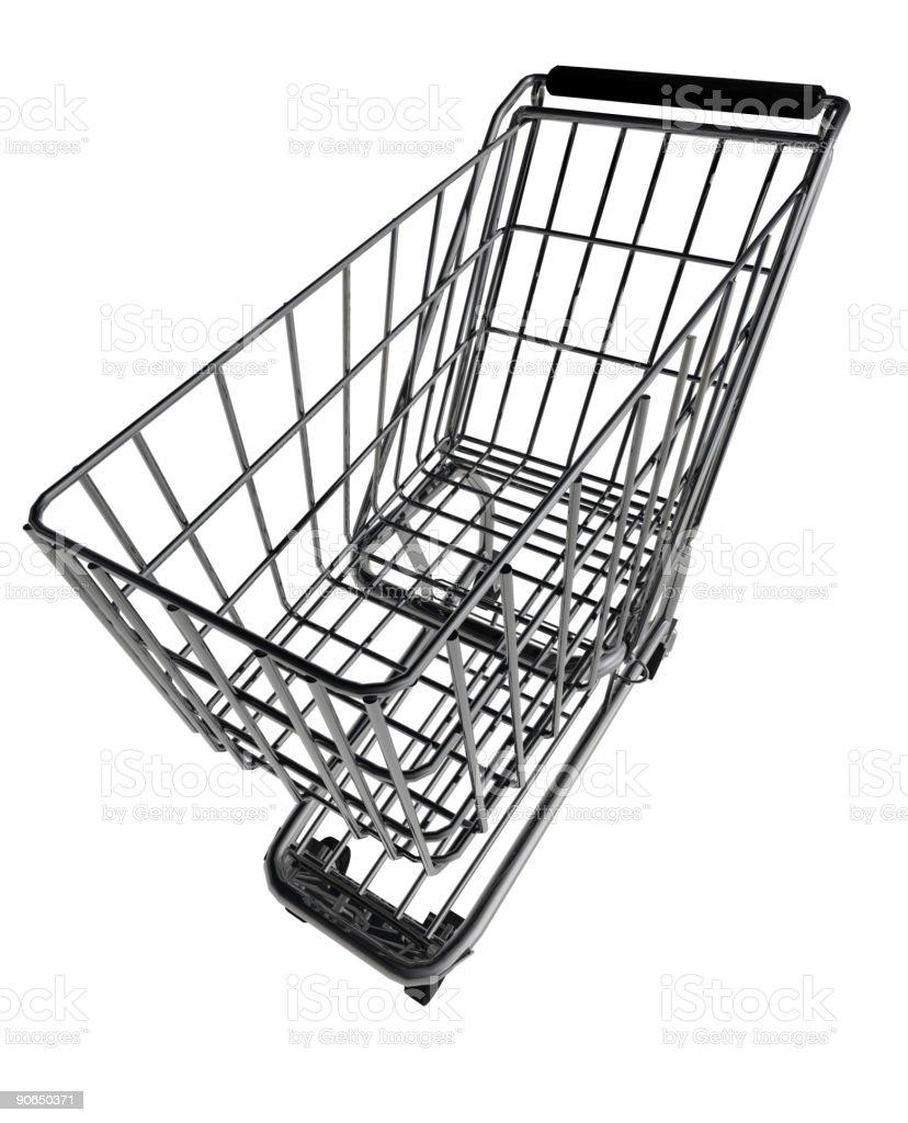 Whacky Shopping Cart 2 of 2 stock photo