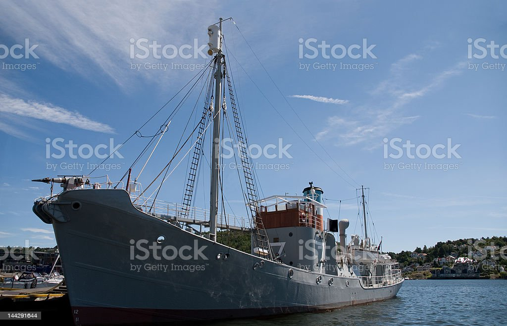 Whaler Ship stock photo