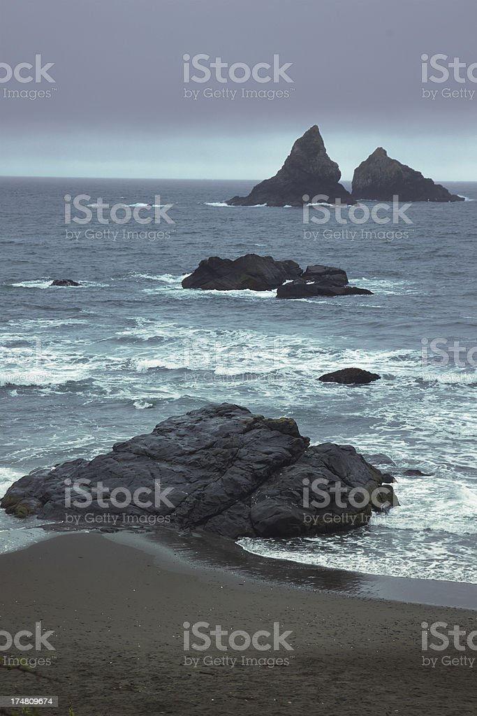 Whaleshead Beach on The Oregon Coast stock photo