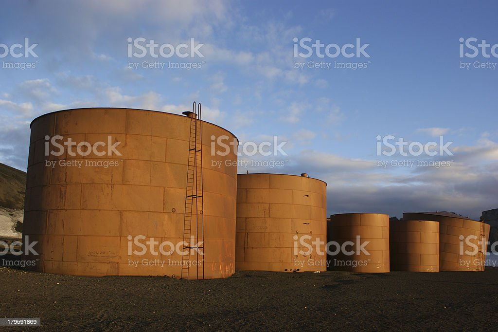 Whaling Relics royalty-free stock photo