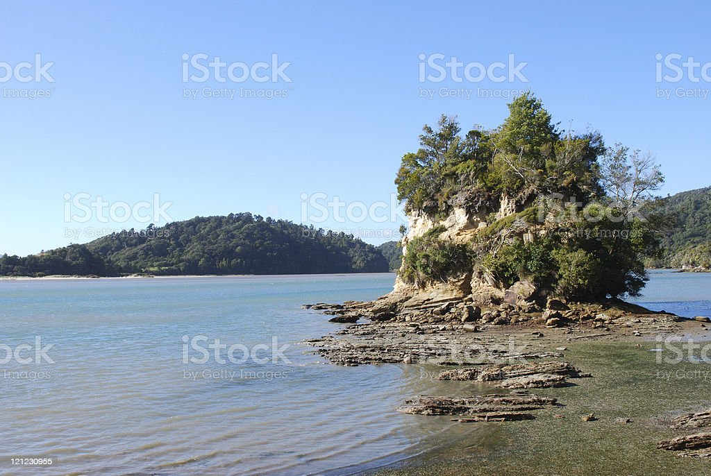 Whanganui Inlet (Westhaven), Golden Bay, New Zealand stock photo
