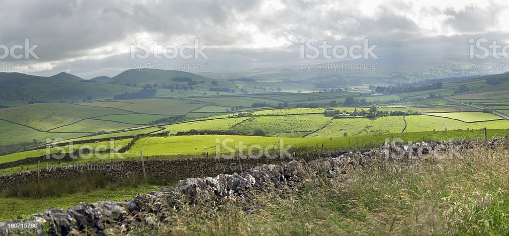 Wharfedale royalty-free stock photo