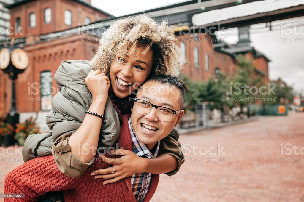 What a beautiful journey together stock photo