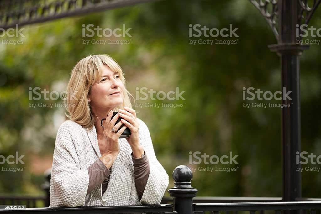 What a beautiful morning stock photo