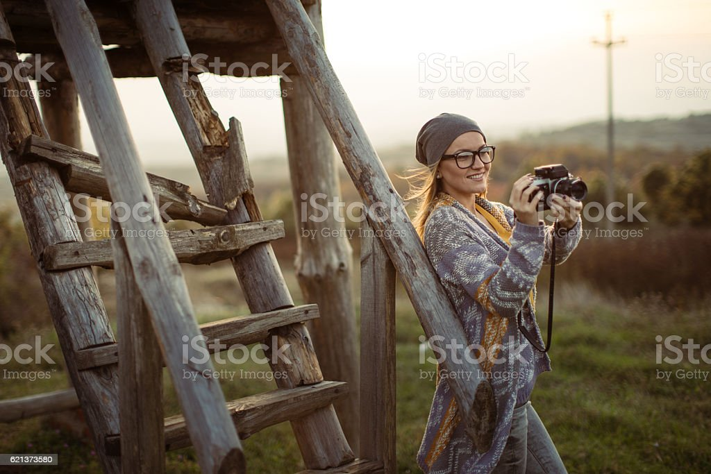 What a beautiful voew stock photo