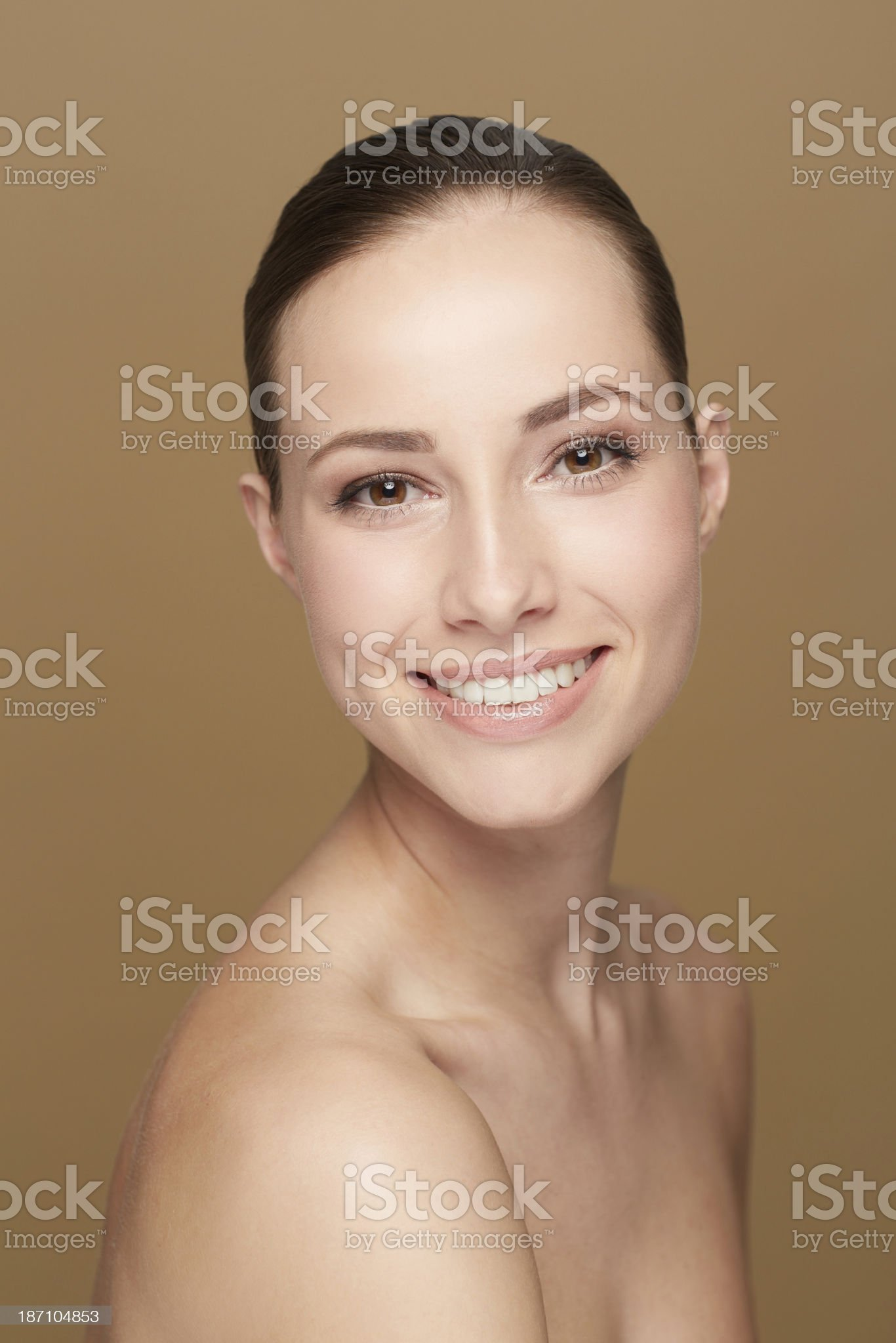 What a brilliant smile! royalty-free stock photo
