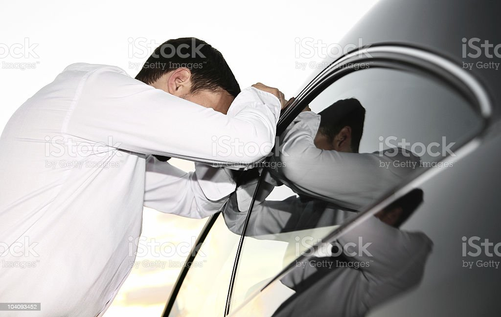 What a day! stock photo