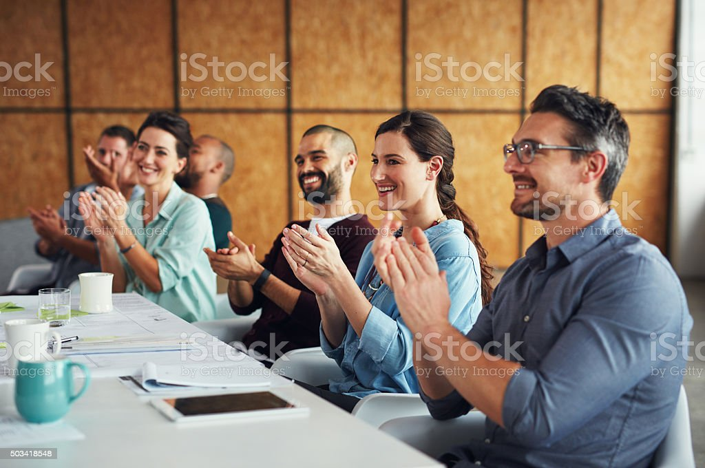What a great achievement! stock photo