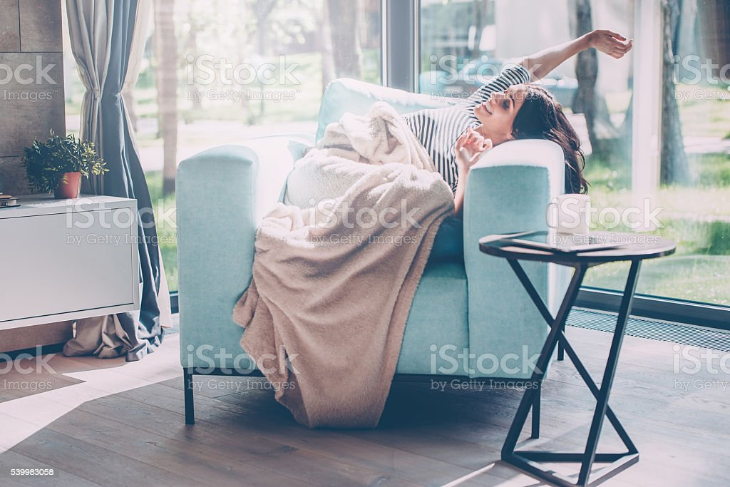 What a great morning! stock photo