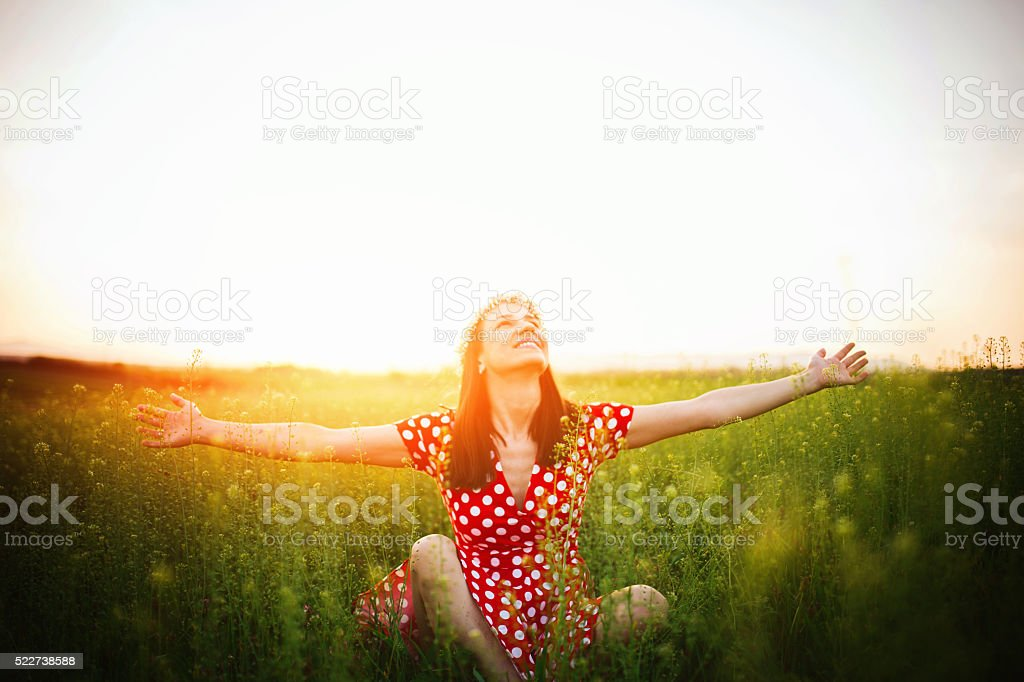 What a lovely day stock photo