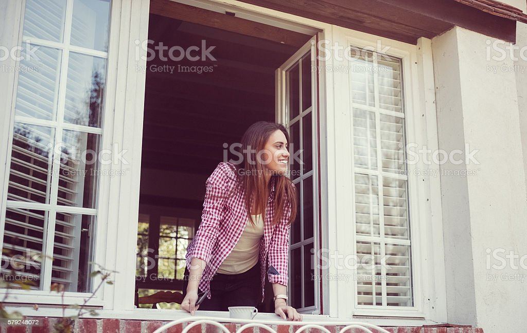 What a nice day stock photo