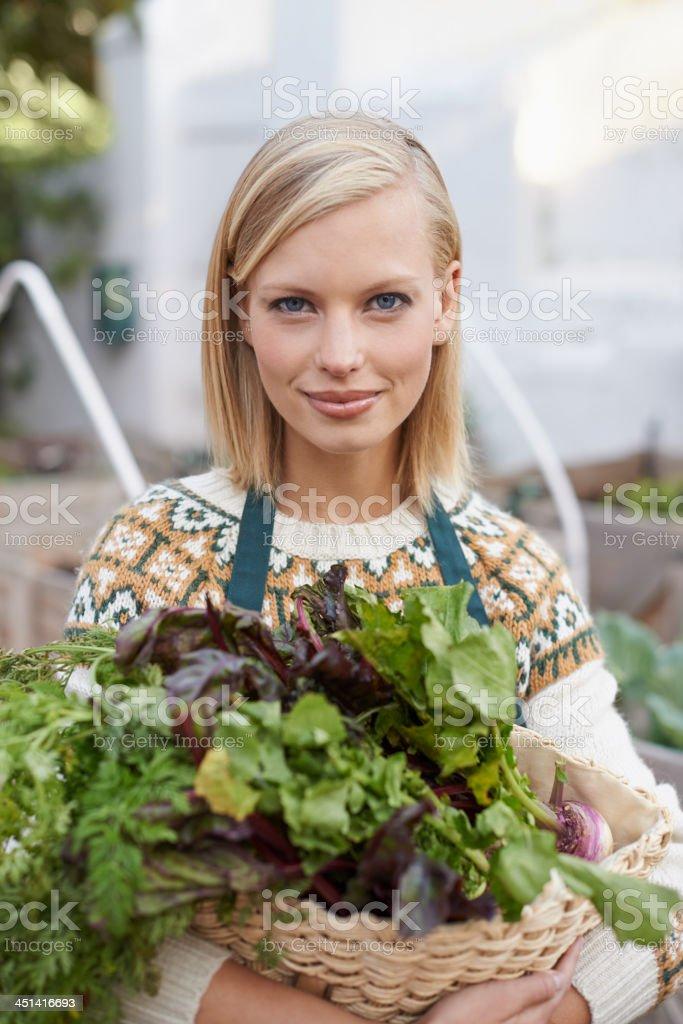 What a plentiful gardening season royalty-free stock photo