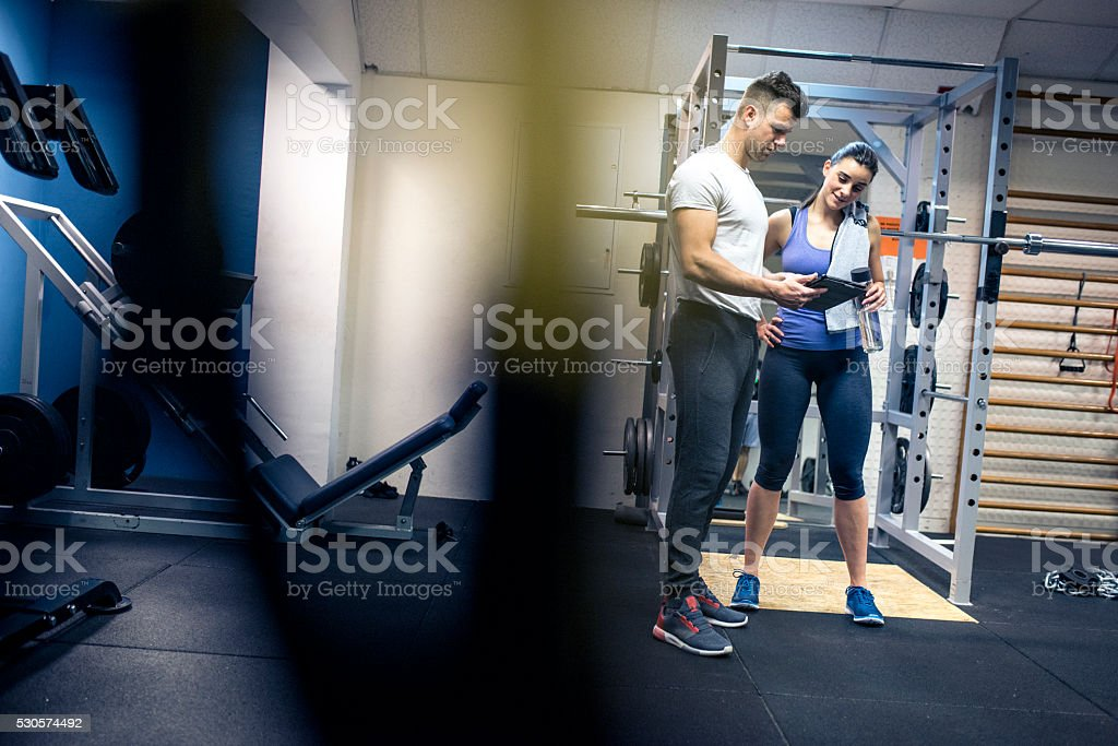 What a progress from last week! stock photo