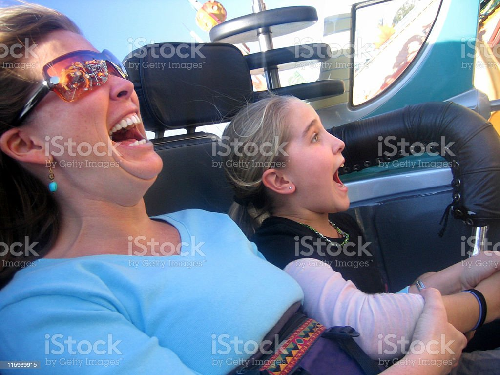 What a ride royalty-free stock photo