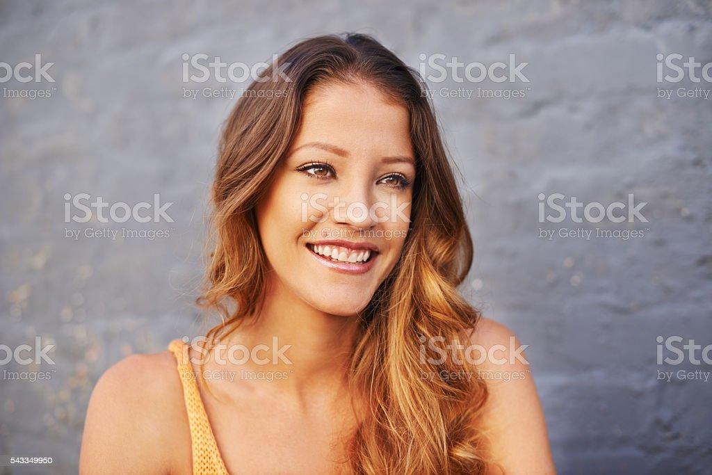 What a wonderful day it is stock photo