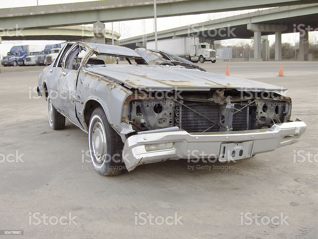 What a Wreck stock photo