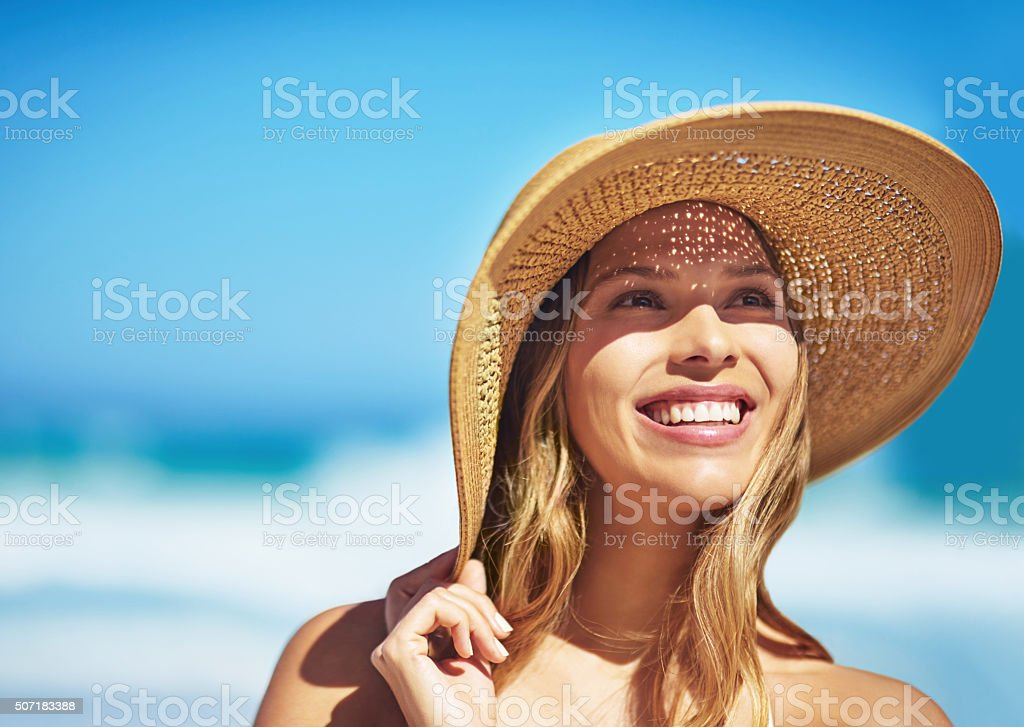 What an amazing summer's day stock photo
