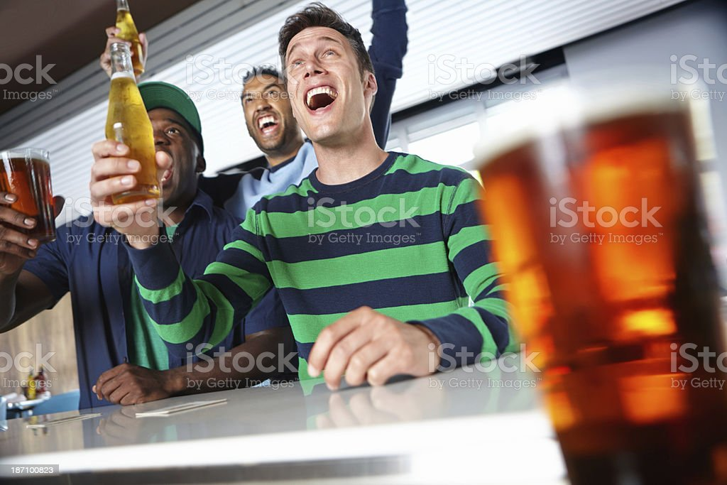 What an epic game! stock photo