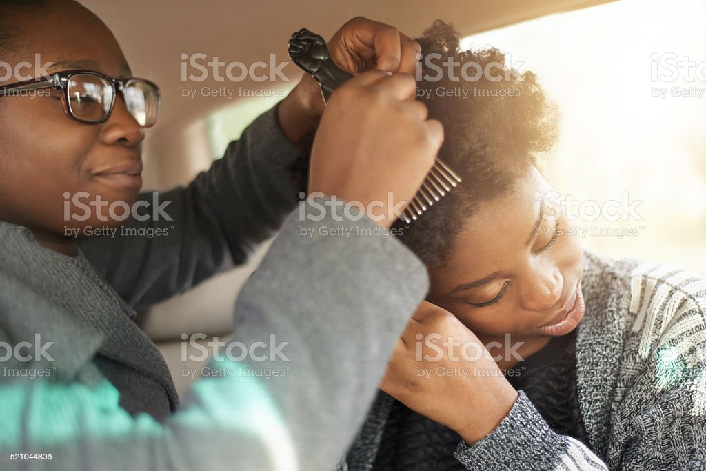 What are friends for...? stock photo