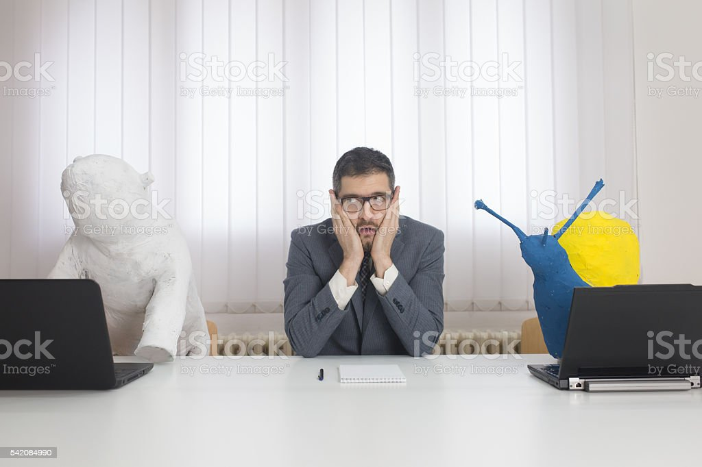 What are they doing? stock photo